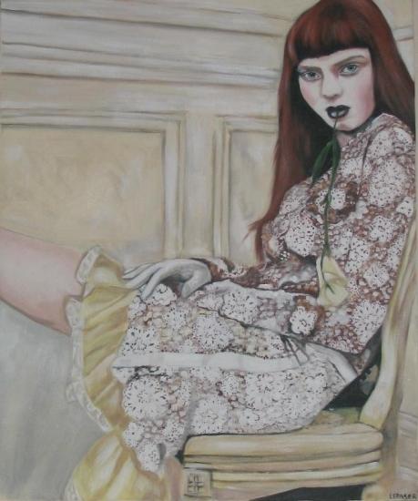 Lily Cole by lynn